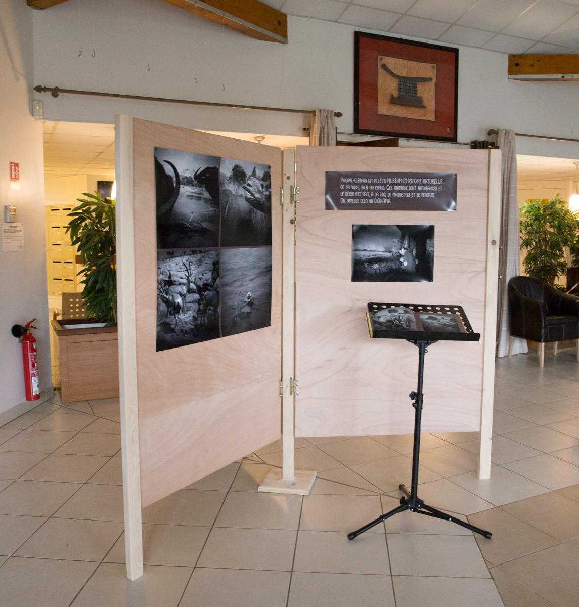 Première expo autour du livre «Philippe-Gérard Dupuy, photographe» est en place