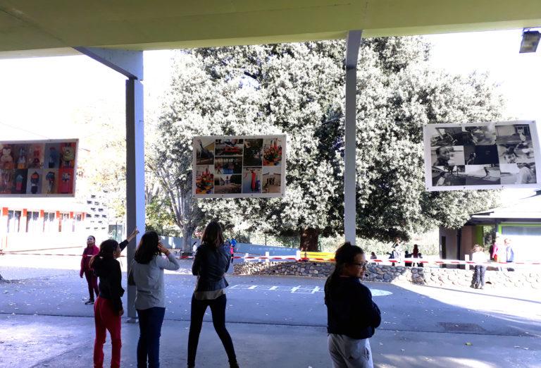 Restitution exposition école