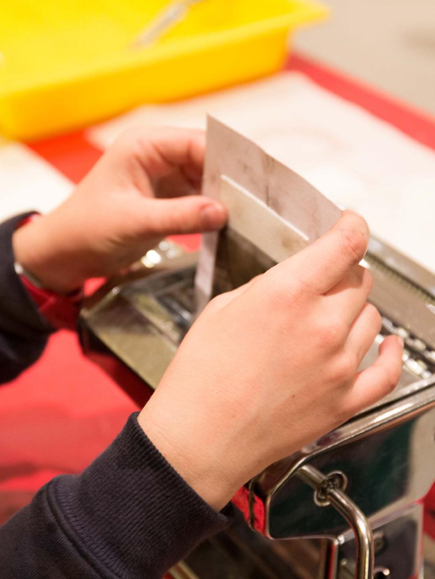 Gravure Machine à pâtes