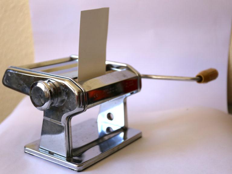 Machine a pates pour gravure